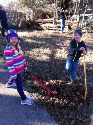 leaf raking outreach 3