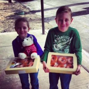 donut giveaway zane