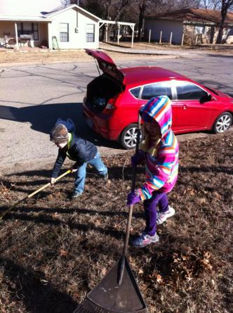 leaf raking outreach 1