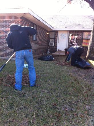 leaf raking outreach 2