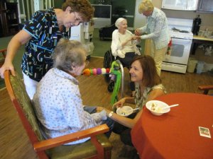 nursing home party 4